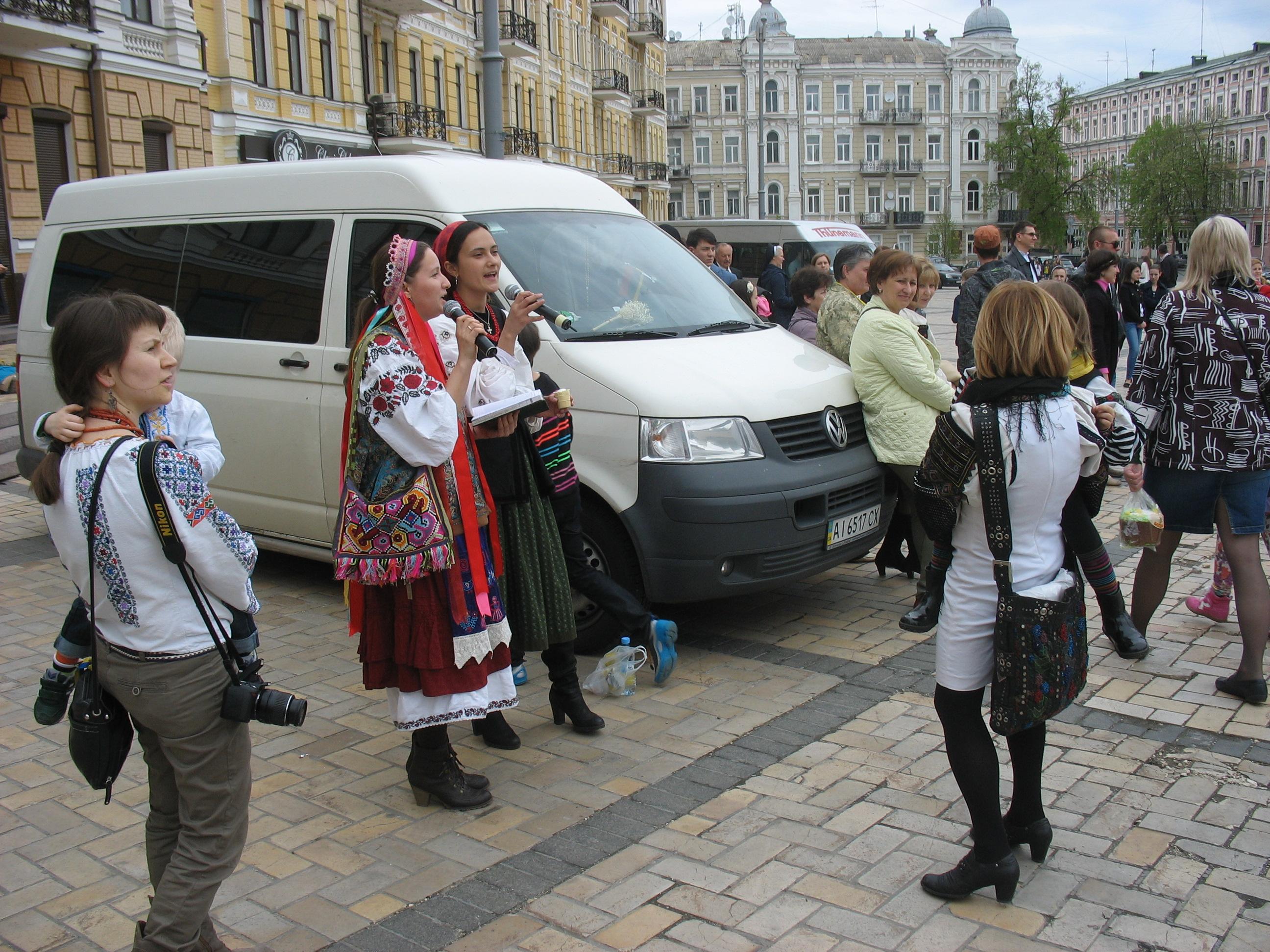 Kiew, Ostern 2014